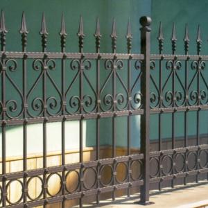 Cloture fer forgé pas cher portail