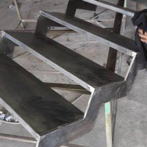 modele escalier metallique