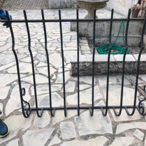 fabriquer une grille en fer forgé