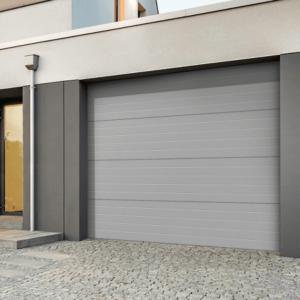 Portes de garage sectionnellerainurée EMMA
